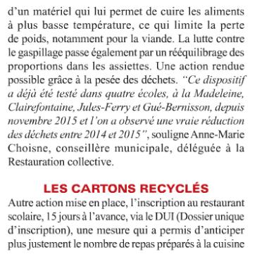 Lutte Anti Gaspillage Combs La Ville