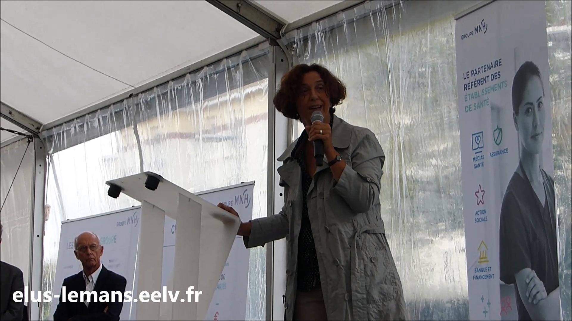 Isabelle Sévère : «Malgré un contexte contraint, la ville a encore fait le choix d'acheter 10 places en crèche»